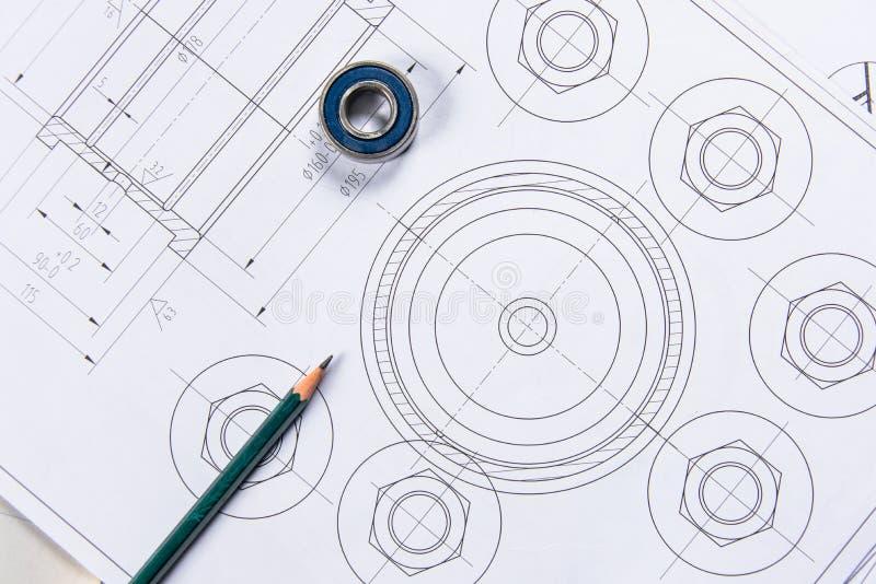 Szczegół strzelający Architektoniczni projekty obraz royalty free