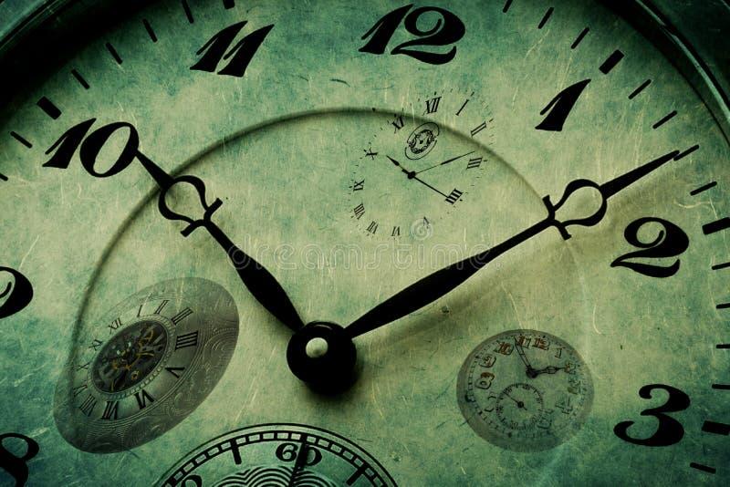 Szczegół tekstura Zegarowego zegarka czas zdjęcia stock