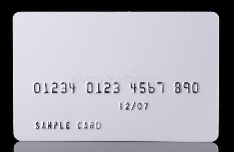 Szczegół Textured Kredytowa karta na czerni obraz stock