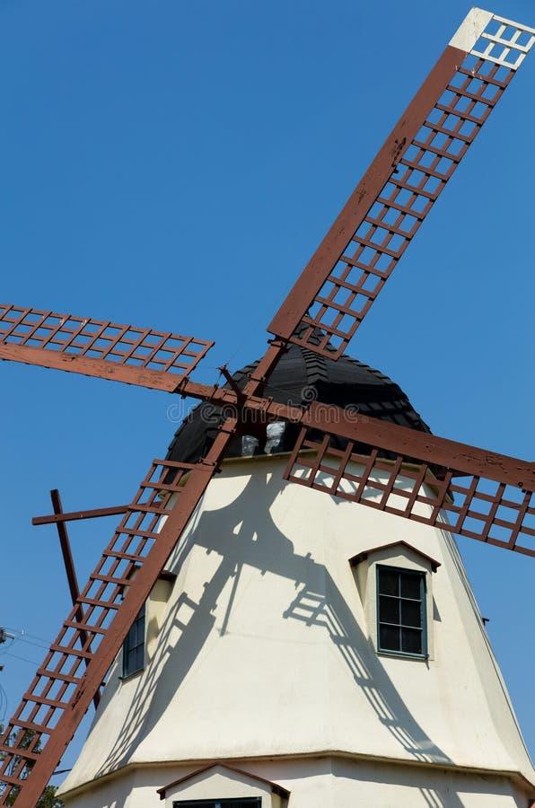 Szczegół wielki wiatraczek w Solvang obrazy stock