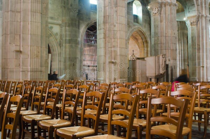 Katedra Autun, Francja zdjęcie stock