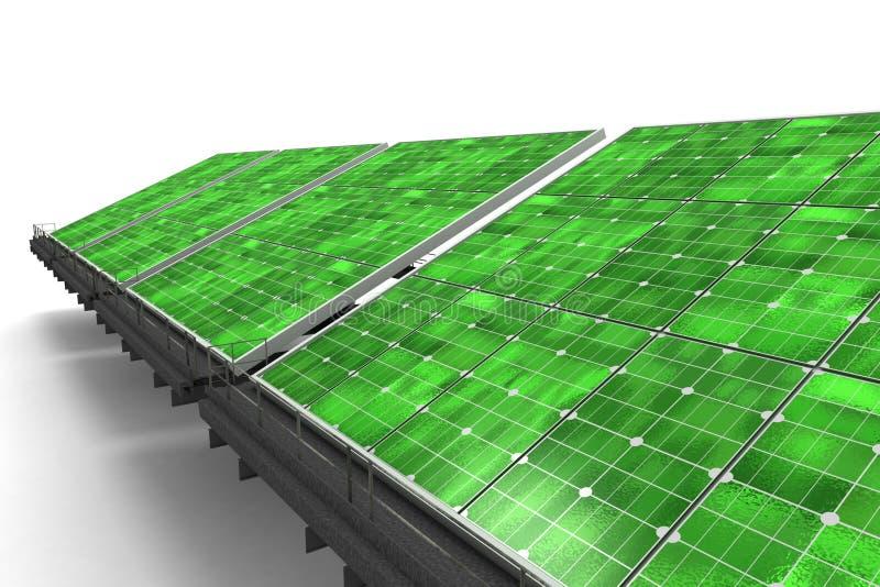 szczegół zielona lina kasetonuje słonecznego ilustracji