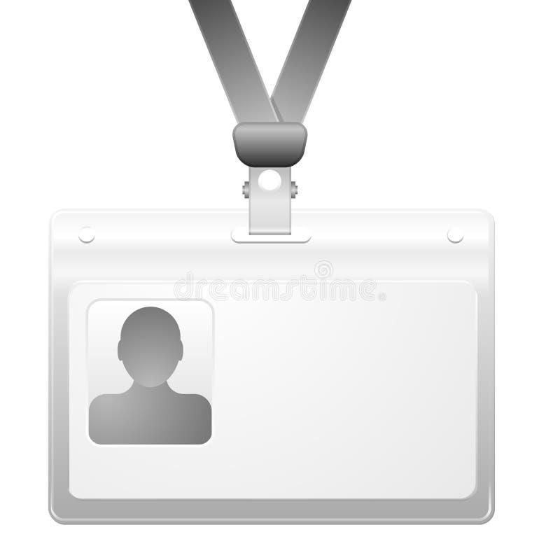 Imię odznaka ilustracja wektor