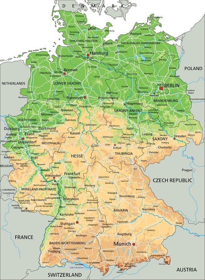 Bawaria mapa niemcy Aurach (Bawaria)