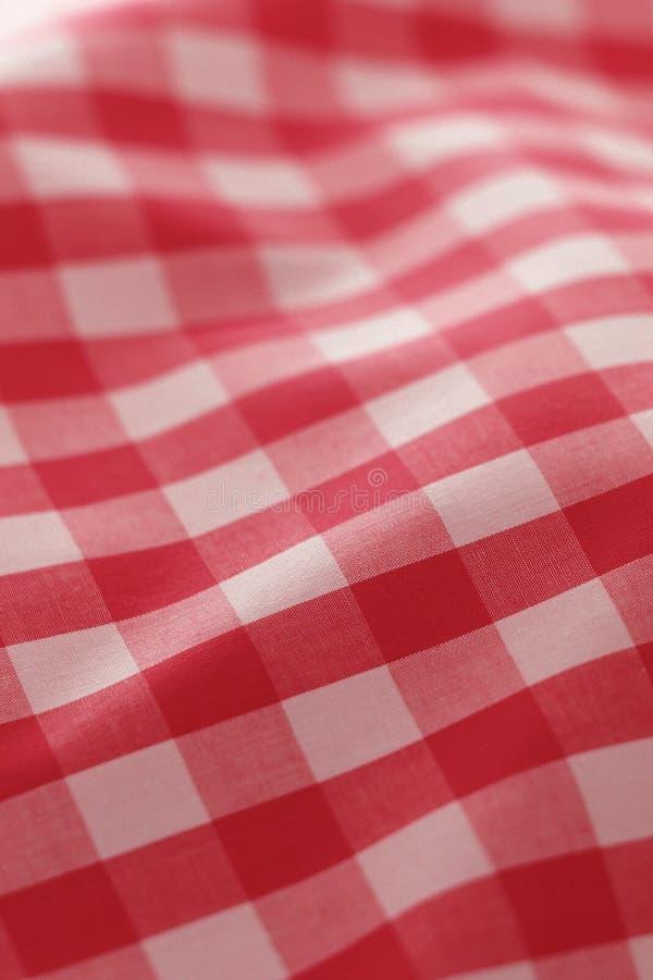 szczegółowe pykniczna czerwonego materiału zdjęcie royalty free