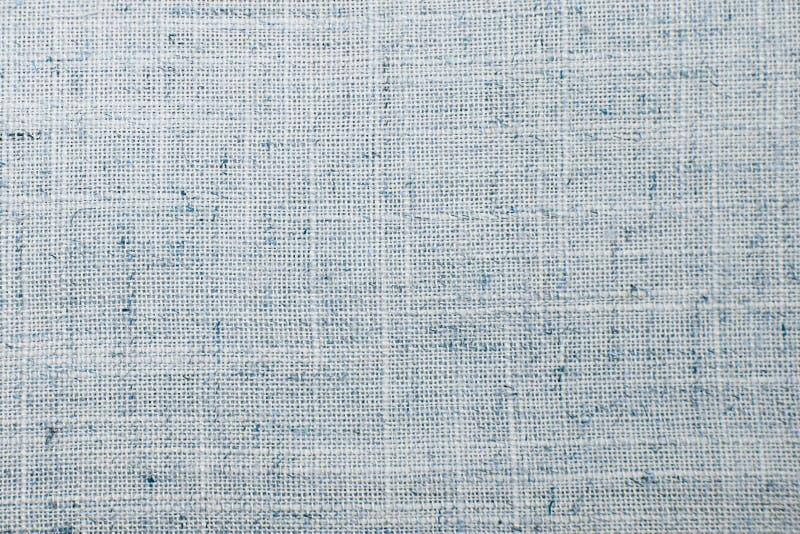 Szczegółowego zbliżenie rocznika tkaniny stary textured burlap, wieśniaka plecy obraz royalty free