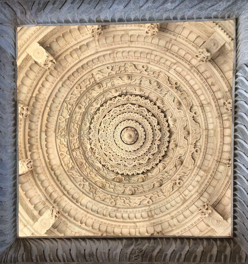 Szczegółowy marmurowy sufit fotografia royalty free