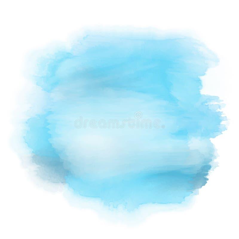 Szczegółowy watercolour splat ilustracji