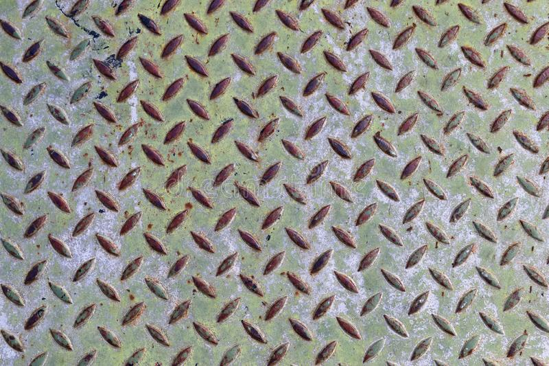 Szczegółowy zakończenie w górę widoku na metalu i stali nawierzchniowych teksturach w wysoka rozdzielczość zdjęcia stock