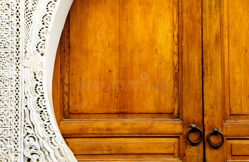 szczegółu architektoniczny moroccan fotografia stock
