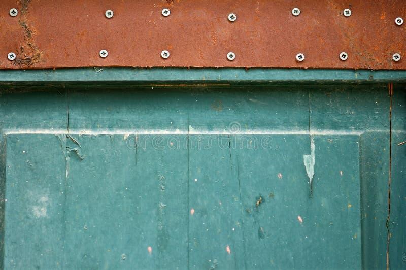 szczegółu błękitny drzwi obrazy royalty free