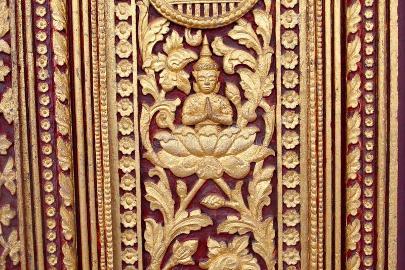 Szczegółu Buddha dekoracje Royal Palace, Phnom Penh obrazy royalty free