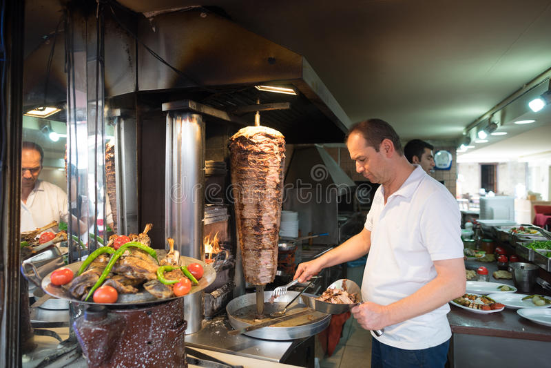szczegółu doner donner kebab turkish zdjęcia stock
