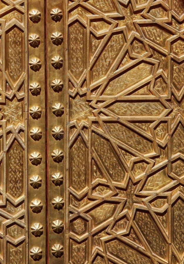 szczegółu drzwi zdjęcia royalty free