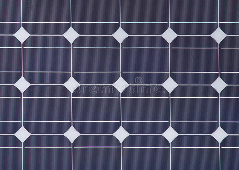 szczegółu ekologicznej panelu władzy słoneczna stacja zdjęcia stock