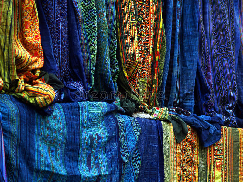 Szczegółu etniczny kostium fotografia stock