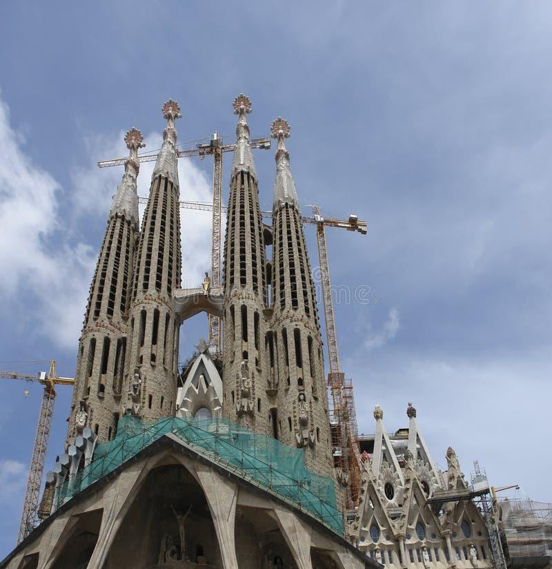 szczegółu familia Sagrada zdjęcia stock