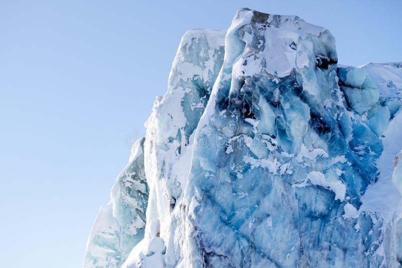 szczegółu lodowiec zdjęcie royalty free