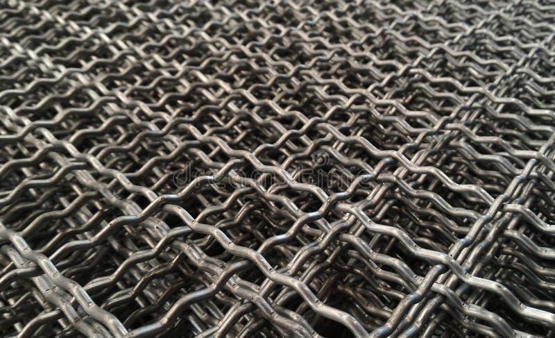 Szczegółu metalu sieć zdjęcie royalty free