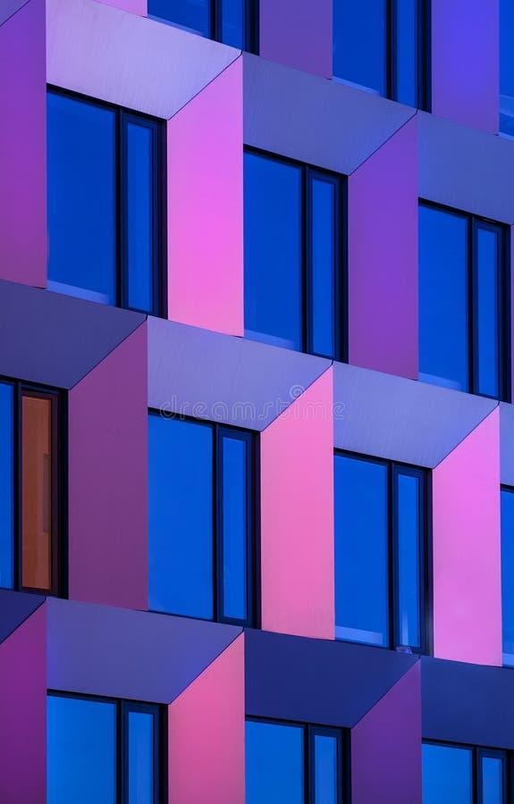 Szczegółu nowożytny budynek fotografia royalty free
