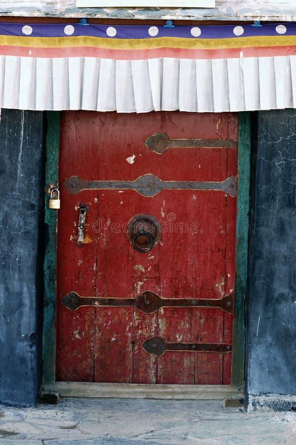 szczegółu pałac potala Tibet fotografia stock