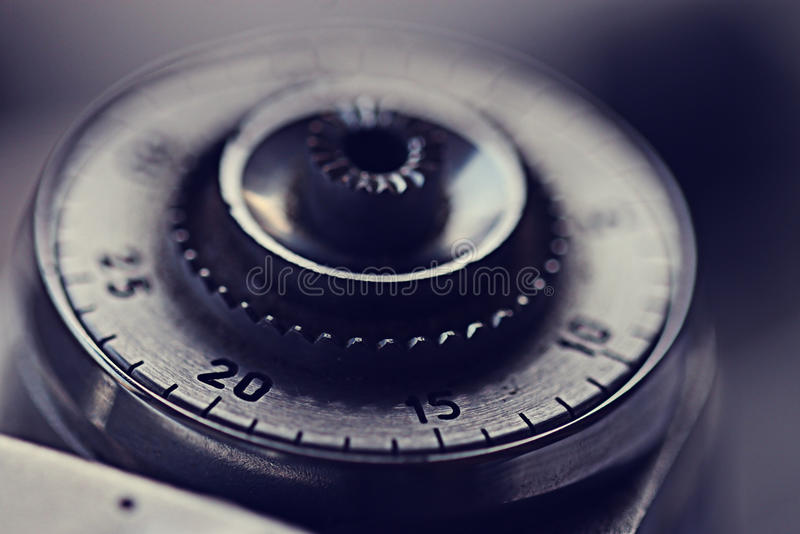 Szczegółu rocznika kamera zdjęcia stock