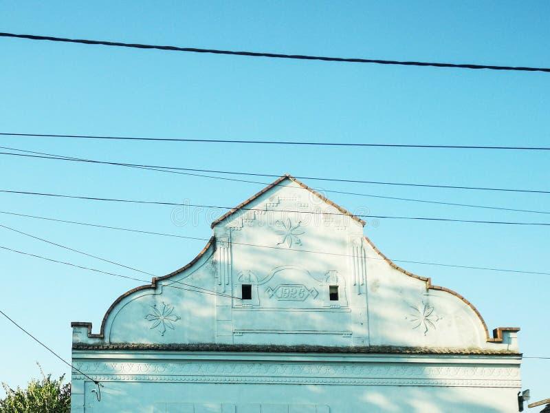 szczegółu stary domowy fotografia stock
