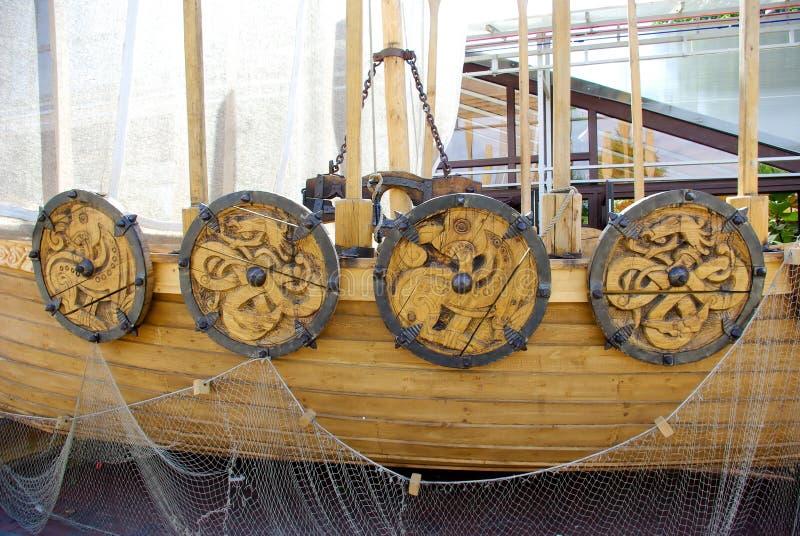 szczegółu statek Viking obraz royalty free