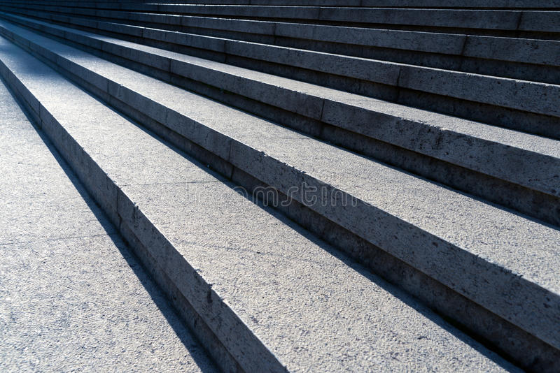 Szczegółu strzał kamienni schodki obrazy royalty free