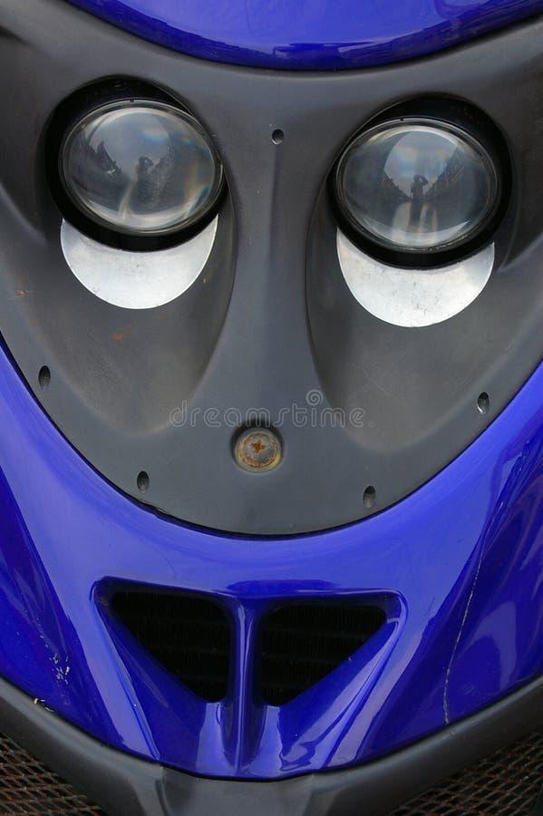 szczegóły 02 skuter zdjęcia royalty free