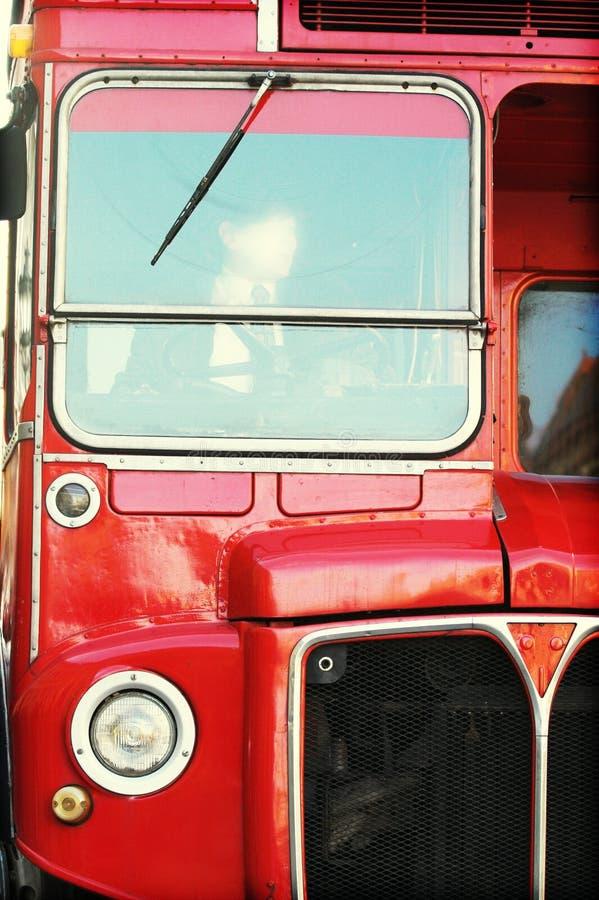 szczegóły autobusów London obrazy royalty free