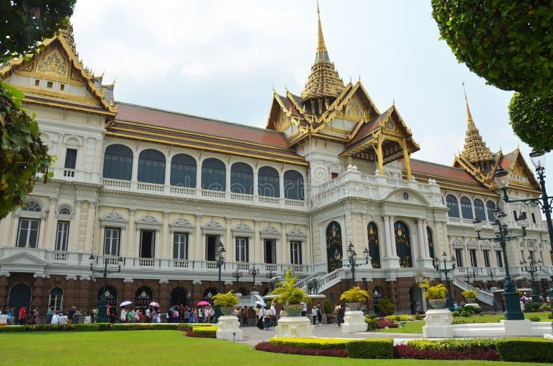 Szczegóły Chakri Maha Prasat tron wśrodku Uroczystego pałac zdjęcie royalty free