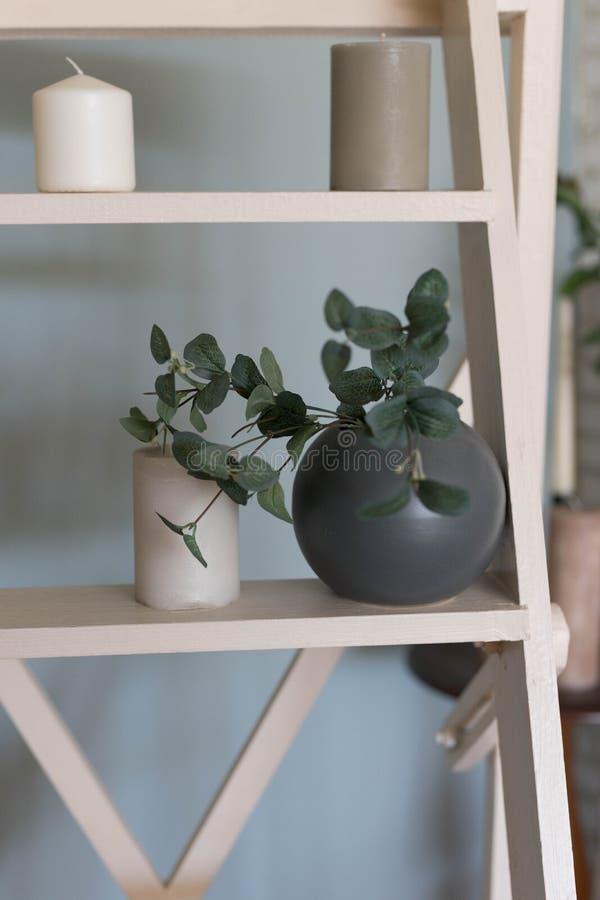 Szczegóły dla wnętrza pokój, studio od drzewa zdjęcie stock