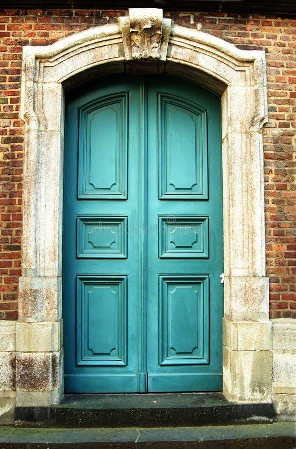 szczegóły drzwi stary fotografia royalty free