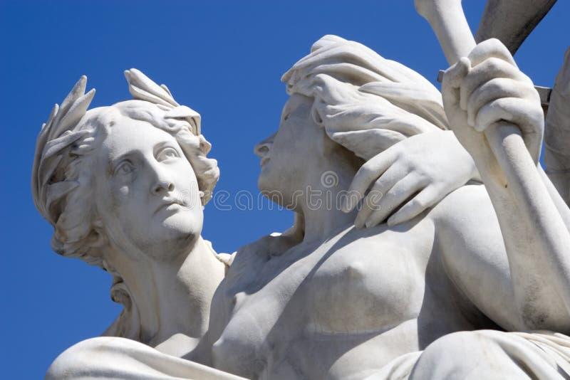 szczegóły fontanna fotografia royalty free