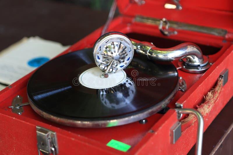 Szczegóły gramofon zdjęcie stock