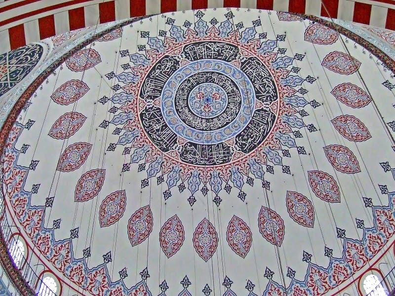 szczegóły kopuły meczetu zdjęcie royalty free