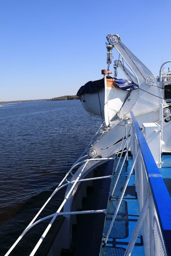 Szczegóły Lifeboat obrazy stock