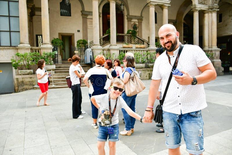 Szczegóły Mediolan, Włochy zdjęcie royalty free