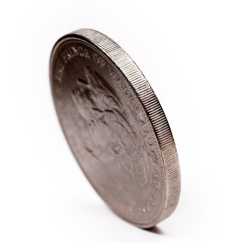 szczegóły monet zdjęcia royalty free