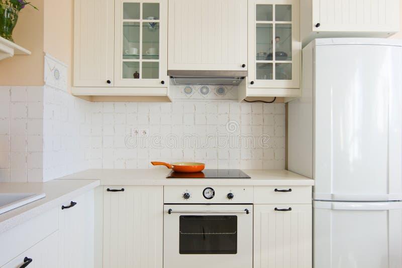 Szczegóły nowożytna kuchnia zdjęcie stock