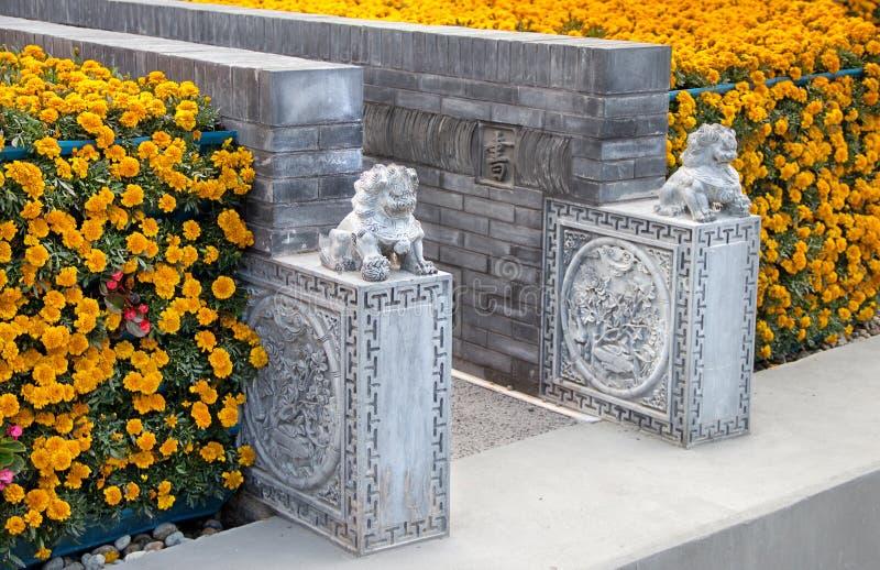 Szczegóły Porcelanowy pawilon przy expo 2015 fotografia royalty free