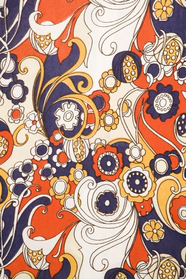 szczegóły rocznik tkaniny zdjęcie stock