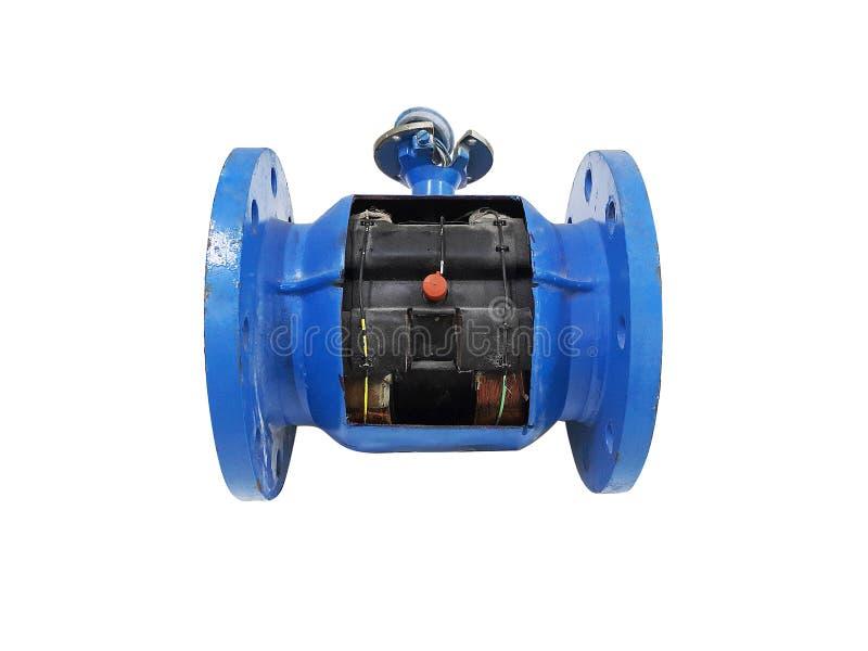 Szczegóły Spływowa tubka dla spływowego metru przyrządów miary obrazy stock