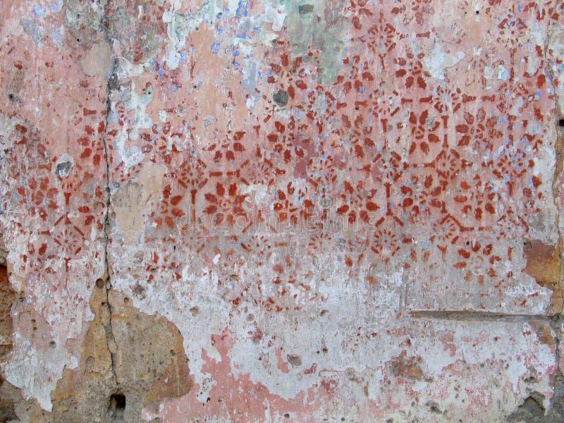 szczegóły stara ściany zdjęcia royalty free