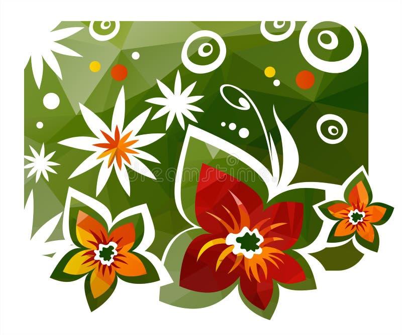 Download Szczegółowy Rysunek Kwiecisty Pochodzenie Wektora Ilustracji - Ilustracja złożonej z sześciokąt, ilustracje: 53778265