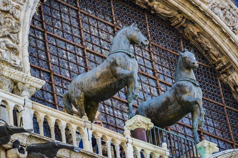 Szczeg??y wn?trze St Mark ` s bazylika w Wenecja obraz royalty free