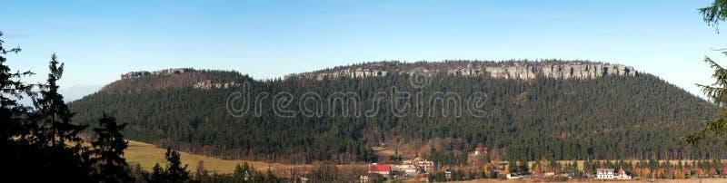 szczeliniec panoramiczny widok fotografia royalty free