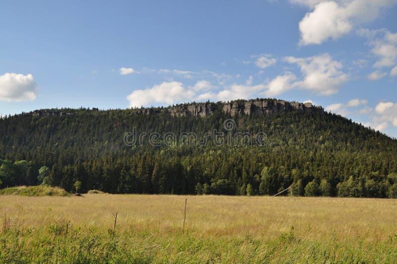 Szczeliniec Wielki, Tabellen-Berg, Polen. lizenzfreie stockfotografie