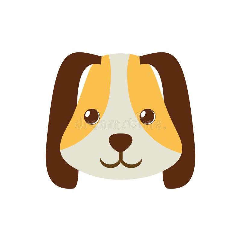 szczeniak twarzy ucho długi brown zwierzę domowe zdjęcie stock